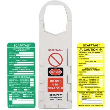 Thẻ cảnh báo an toàn giàn giáo