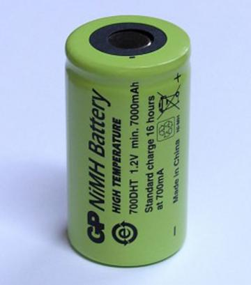 GP Batteries GP700DH D Rechargeable Battery