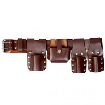 Scaffolding Leather Belt